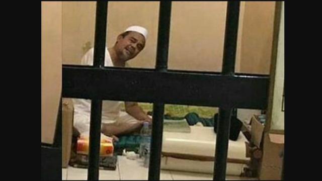 Ada Rasa Khawatir, Habib Rizieq Pilih Konsumsi Makanan dari Keluarga selama Ditahan