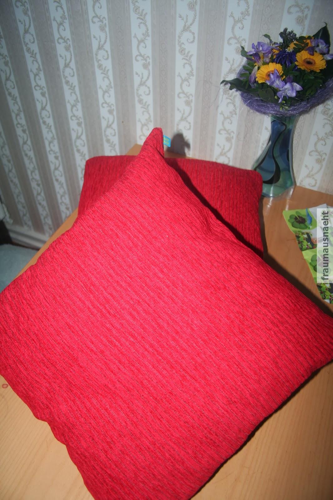 frau maus n ht selbst kissen mit hotelverschluss. Black Bedroom Furniture Sets. Home Design Ideas