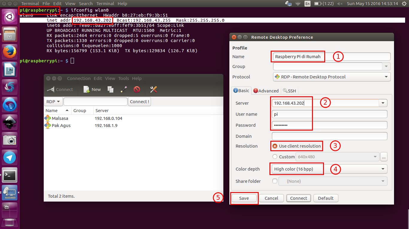 Ubuntu Buzz !: Remote Desktop (xrdp) to Raspberry Pi without