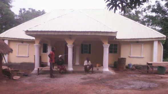 Man Builds House For His Poor Neighbours Who Have Been Childless For 30 Years