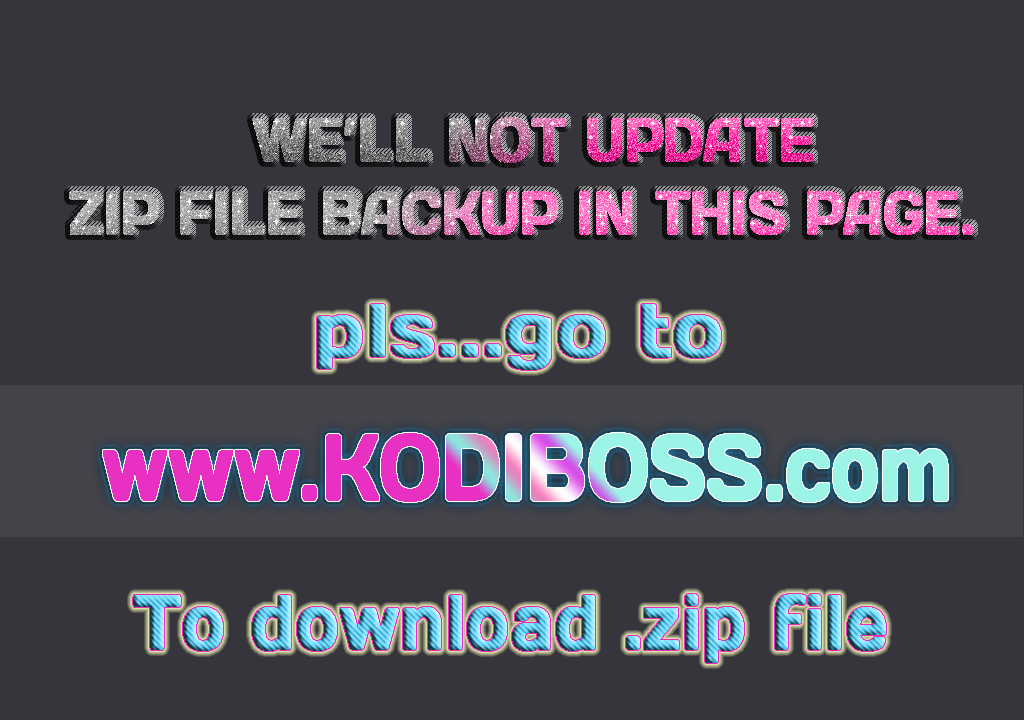 NEW BEST UPDATE LIST KODI REPOSITORY  ZIP FILE Download 2019