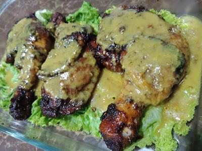 resepi ayam percik, ayam percik, bahan membuat ayam percik, cara membuat ayam percik, resepi ayam percik mudah