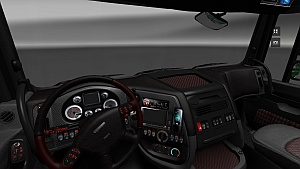 Heavy Metal interior mod for DAF