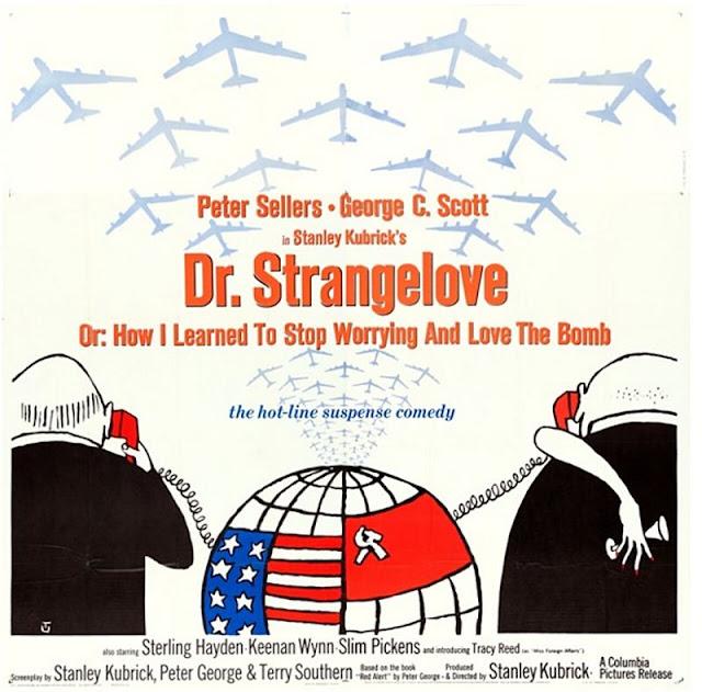 Original film poster for Dr. Strangelove