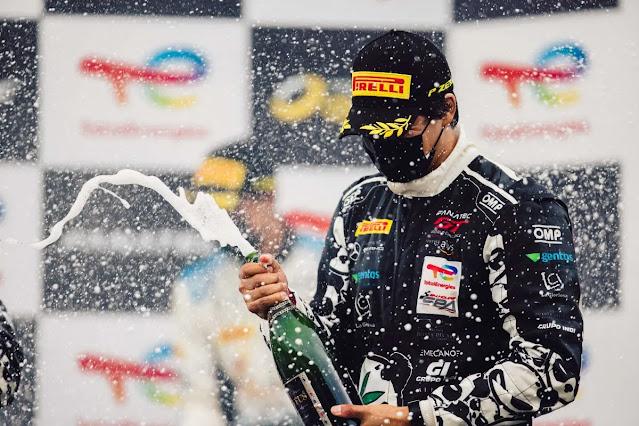 Victoria de Ricardo Sánchez GT World Challenge Europe 24 Horas de Spa
