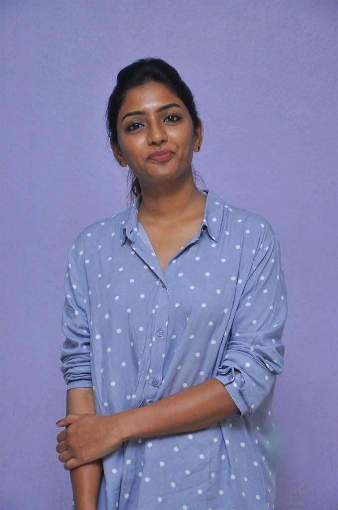 Eesha Photos Blue Shirt Jeans