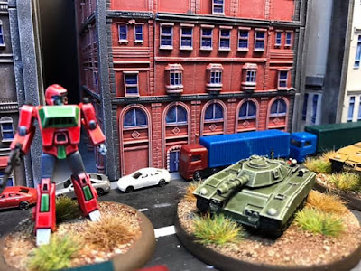 Bot War City Set