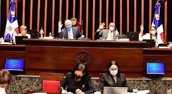 """Senado aprueba ley libera impuestos regalos traigan dominicanos exterior. """"El Internacional"""""""