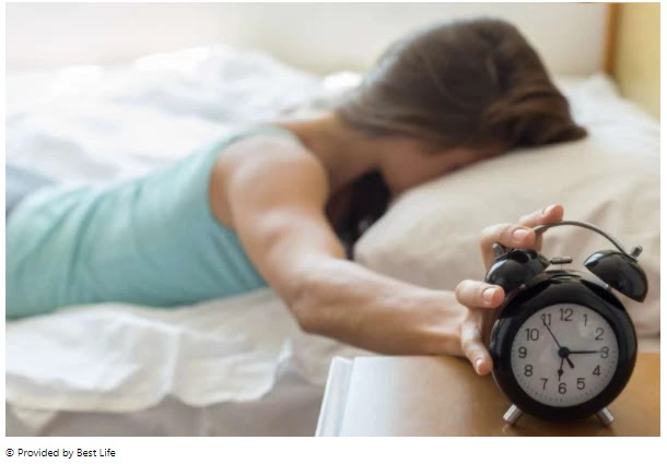 According to the study, 15 minutes of sleep can lead to weight gain