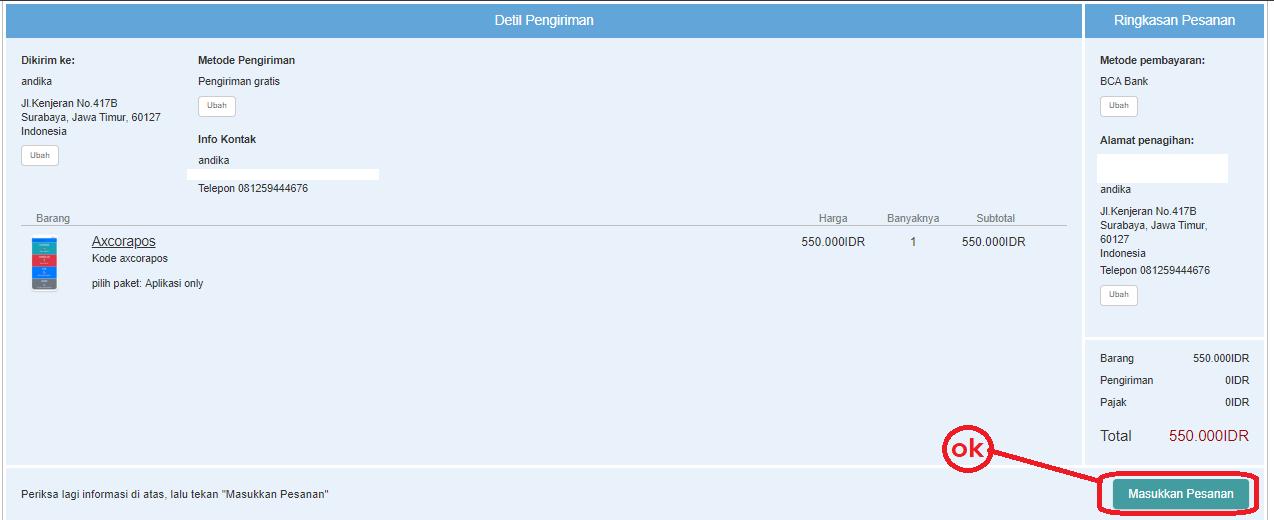 cara belanja mesin kasir online terbaru new update