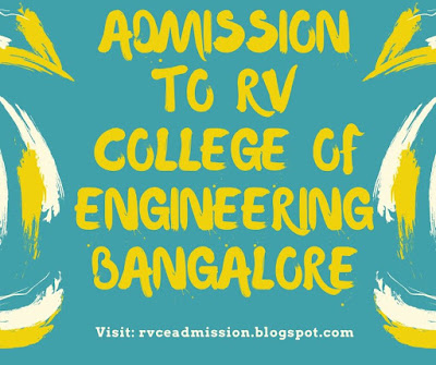 Admission To RV College Of Engineering Bangalore