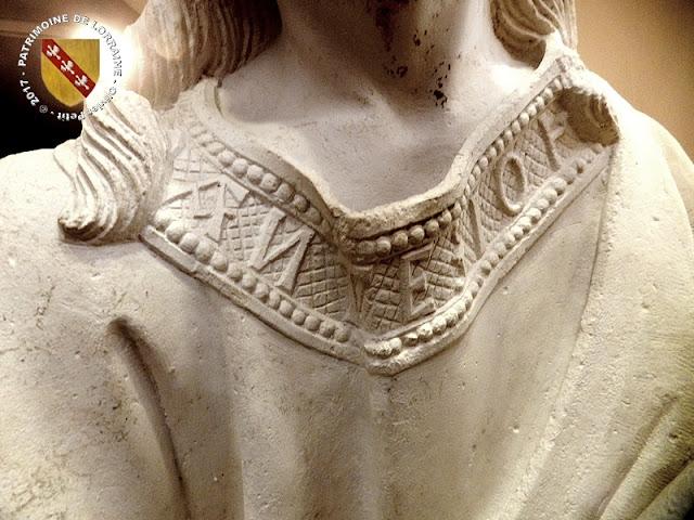VIC-SUR-SEILLE (57) - Musée Georges de la Tour : La Pâmoison de la Vierge (XVIe siècle)