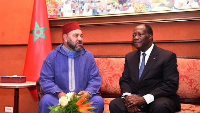 جلالة الملك محمد السادس نصره الله يعزي الرئيس الإيفواري في وفاة الوزير الأول أمادو غون كوليبالي