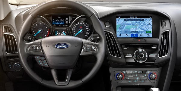 Interior Ford Focus 3