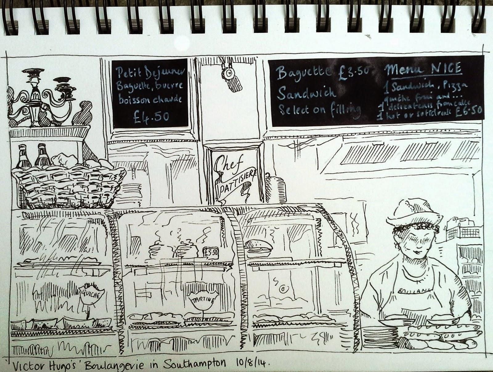 New Urban Sketchers Chapter Southampton United Kingdom