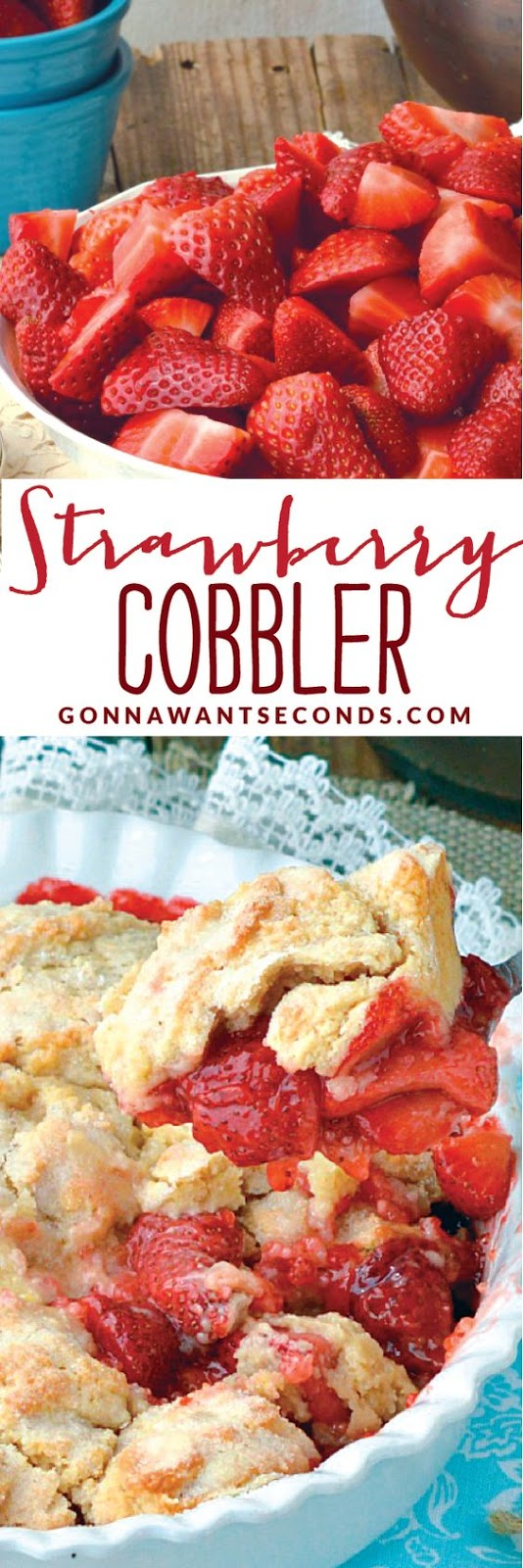OLD-FASHIONED STRAWBERRY COBBLER RECIPE