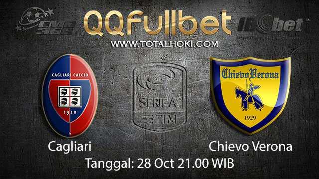 Prediksi Bola Jitu Cagliari vs Chievo 28 October 2018 ( Italian Serie A )