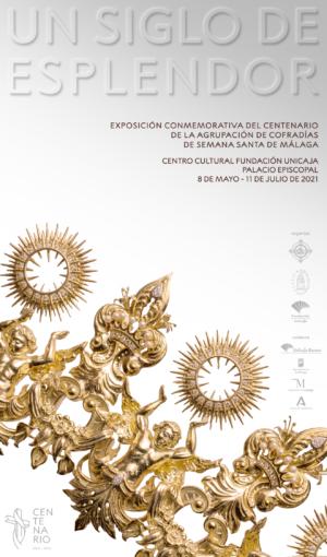 El Centenario de la Agrupación de Cofradías de Málaga inaugura su exposición patrimonial el próximo 8 de mayo
