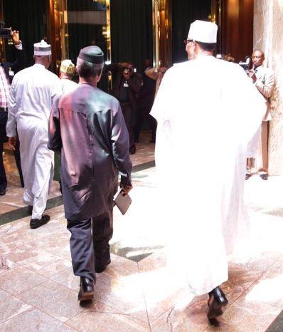Buhari vs Osinbajo: Same party, different attitudes to power