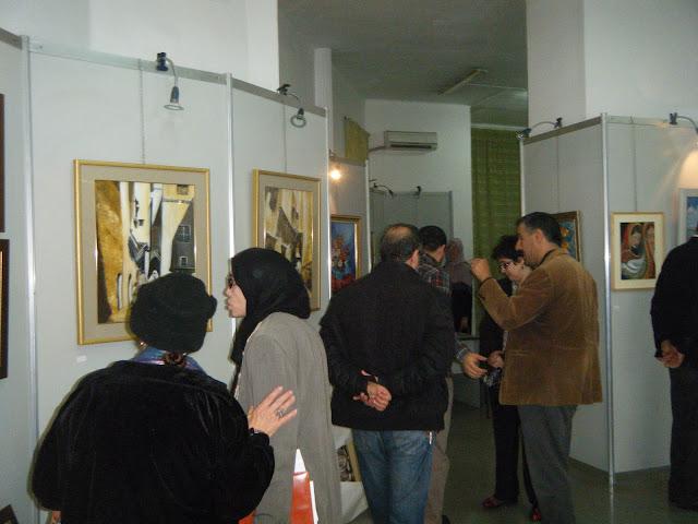 Exposition de peintures à La Galerie Aicha Haddad 9