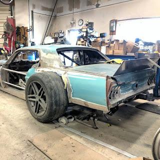 67 Mustang swap Corvette C5 dans under construction 17662831_1956007794627865_6840762100747337728_n