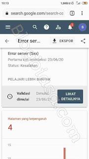 Blogspot error server 5xx