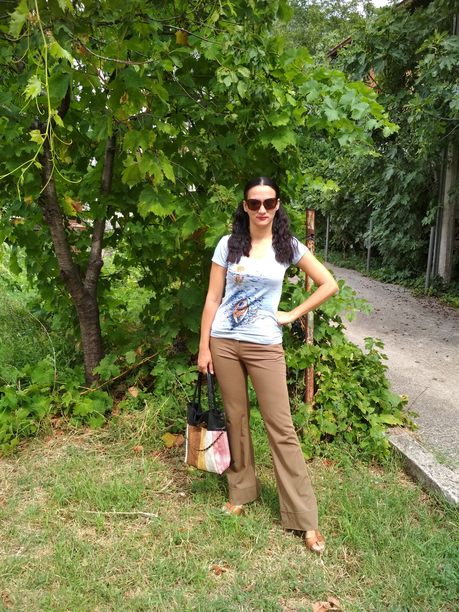 #modaodaradosti FIVE EASY CHIC SUMMER OUTFIT IDEAS THAT DON'T INVOLVE DRESSES