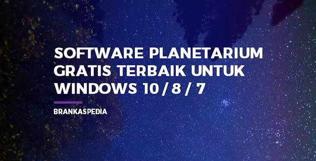 Software Planetarium Gratis Terbaik untuk Windows