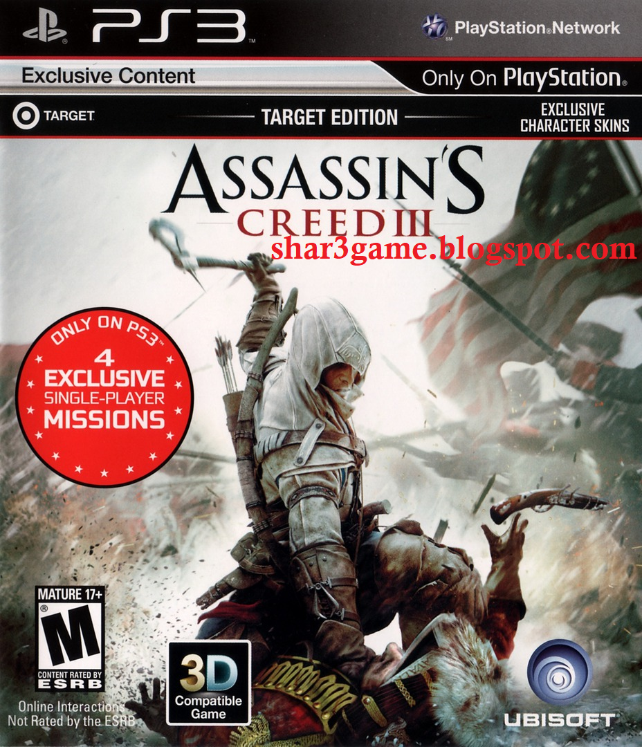 Shar3game Free Download Game Dlc Pkg Ps3 Assassin S Creed