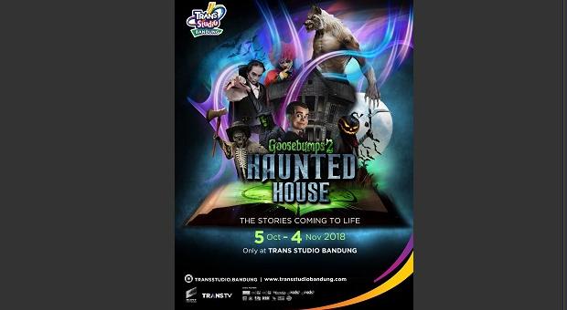 TSB Launching Wahana Goosebumps 2 Haunted House