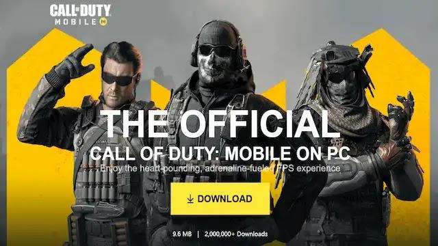 كيفية تحميل لعبة Call Of Duty Mobile على الكمبيوتر مجانا