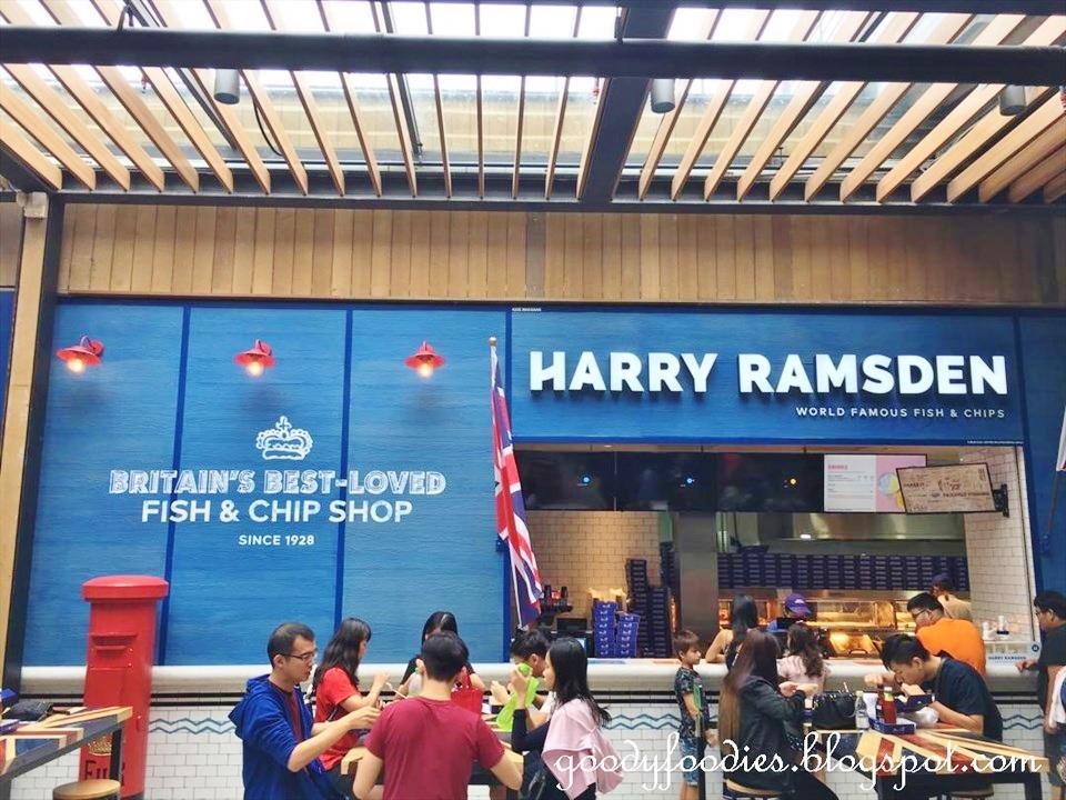 Goodyfoodies Harry Ramsden Genting Fish Chips