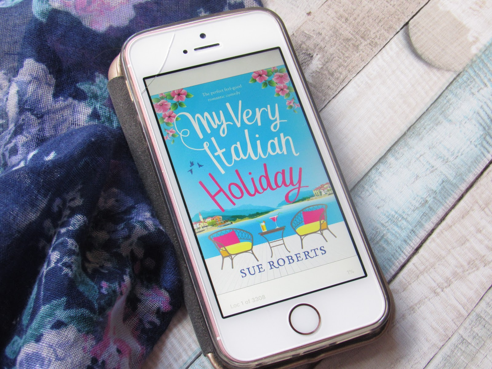 Blooming Fiction, My Very Italian Holiday by Sue Roberts