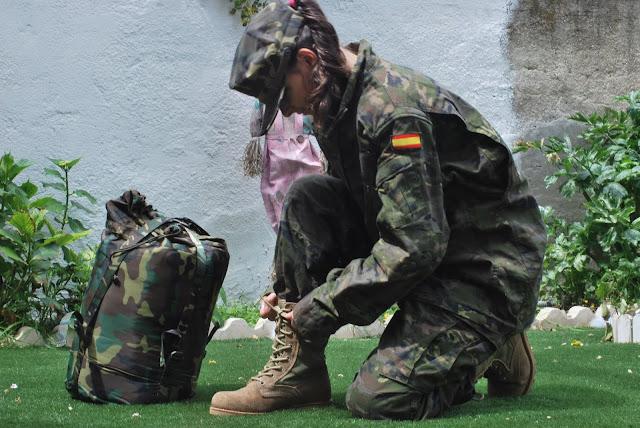Oficio: Militar - Homenaje a mi Papá - Lourdes Santos Suero