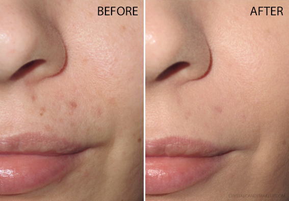 BareMinerals Complexion Rescue Hydrating Foundation Stick Review Before After