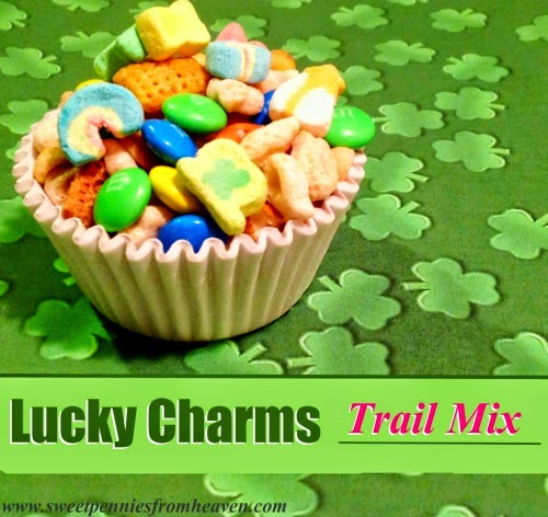Lucky Charms Trail Mix - FEATURED