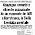 25 giugno 1974: attivista missino uccide a revolverate consigliere del Pci a Barrafranca