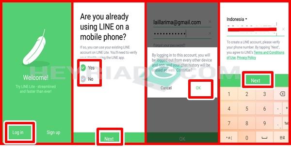 Cara Memindahkan Akun Line ke HP Lain