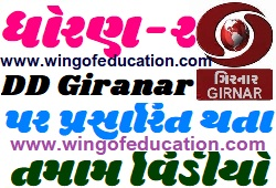 Std-2 DD Girnar Home Learning All Subjects Video December-2020-www.wingofeducation.com