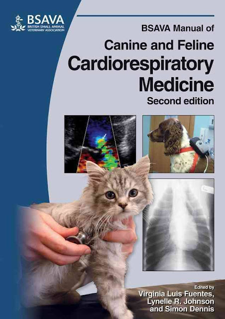 BSAVA Manual of Canine and Feline Cardiorespiratory Medicine  - WWW.VETBOOKSTORE.COM