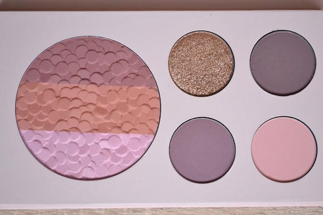 Paleta Pretty Rose je využiteľná ako očné tiene, kontúry, bronzer, líčka, či rozjasnovač a farba na obočie