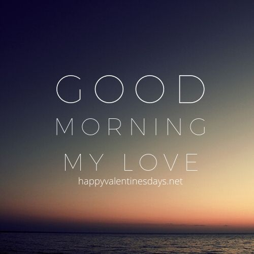 good morning love pic