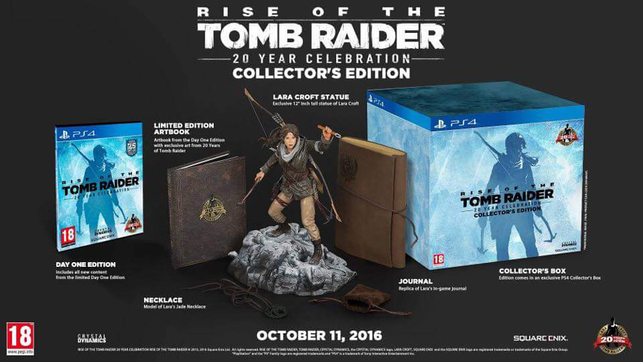 Rise Of The Tomb Raider 20th Year Celebration Ps4 Review