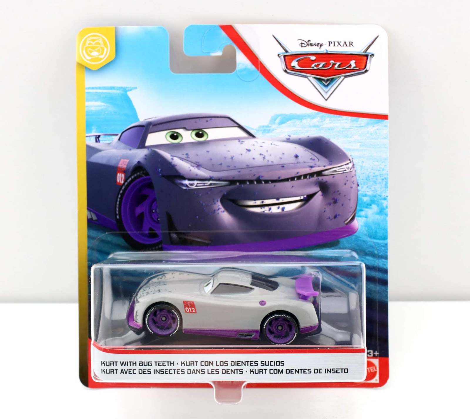 Cars 3 Kurt with Bug Teeth review