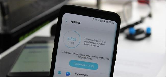 memoria ram minima para android