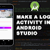 Make a Login Activity in Android Studio Part 1 : UI DESIGN