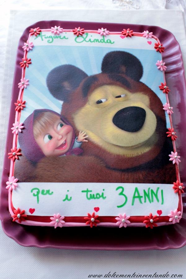 Dolcemente Inventando La Torta Al Cioccolato Di Masha E Orso