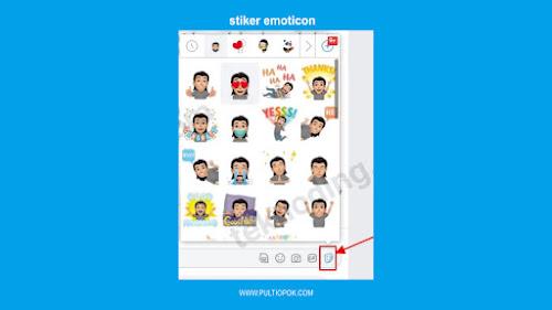 Emoticon Stiker Avatar