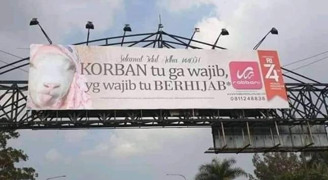 iklan rabbani kontroversial gambar kambing idul adha