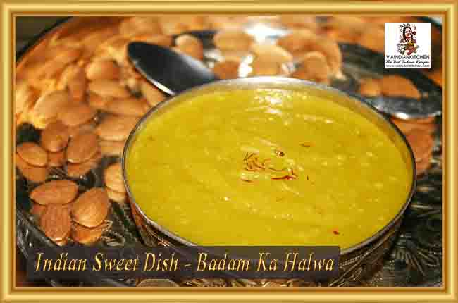 Indian Sweet Dishes - Badam ka Halwa